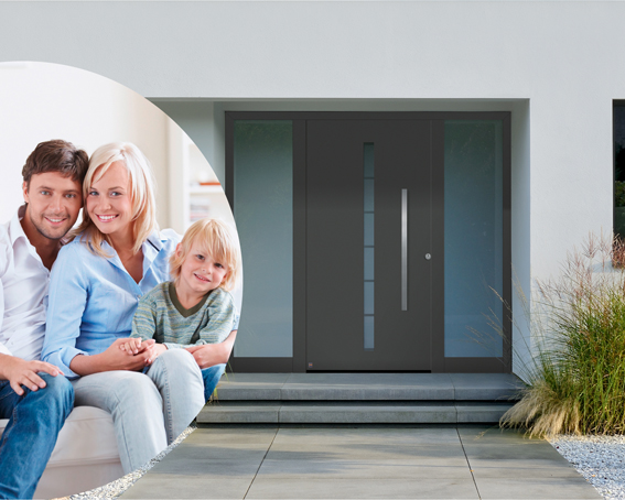 h rmann lance l op ration sp ciale portes d entr es thermosafe 2015 une porte d entr e sur. Black Bedroom Furniture Sets. Home Design Ideas