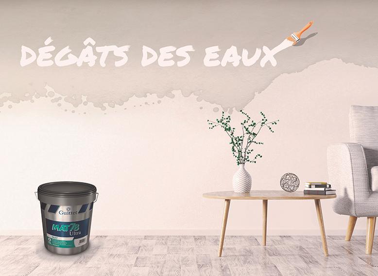 Finis Les Murs Et Plafonds Tachés Guittet Lance Mat78 Ultra La